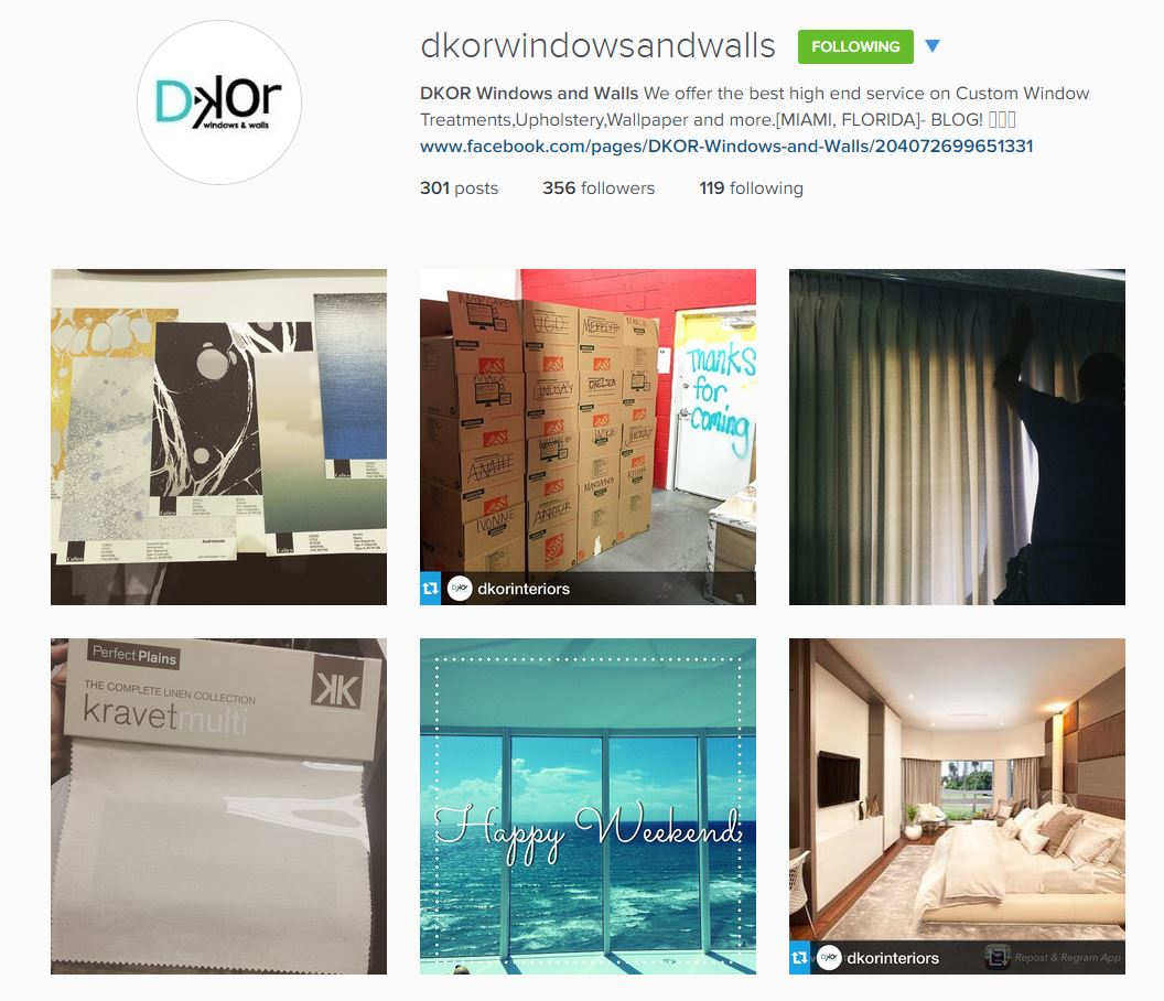 Dkor Windows and Walls_Miami_Designers_Instagram