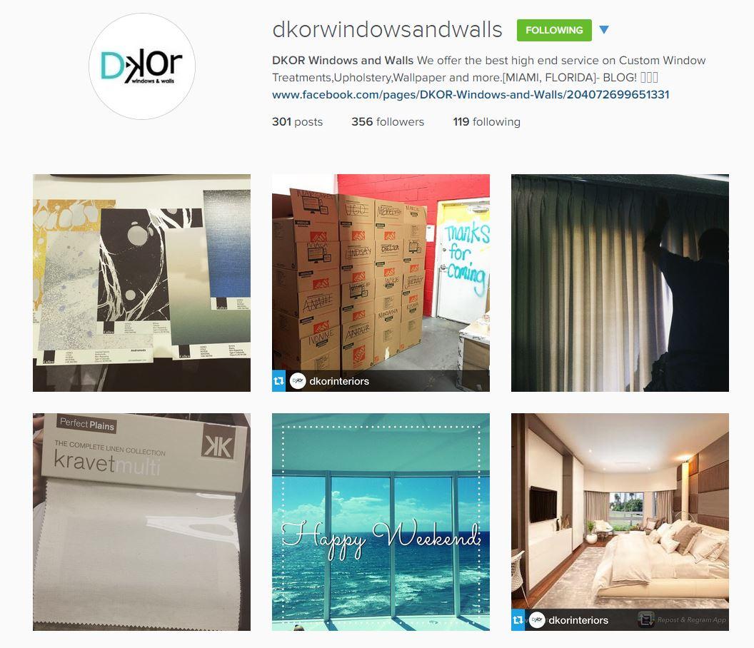 Dkor Windows and Walls_Miami_Designers_Instagram