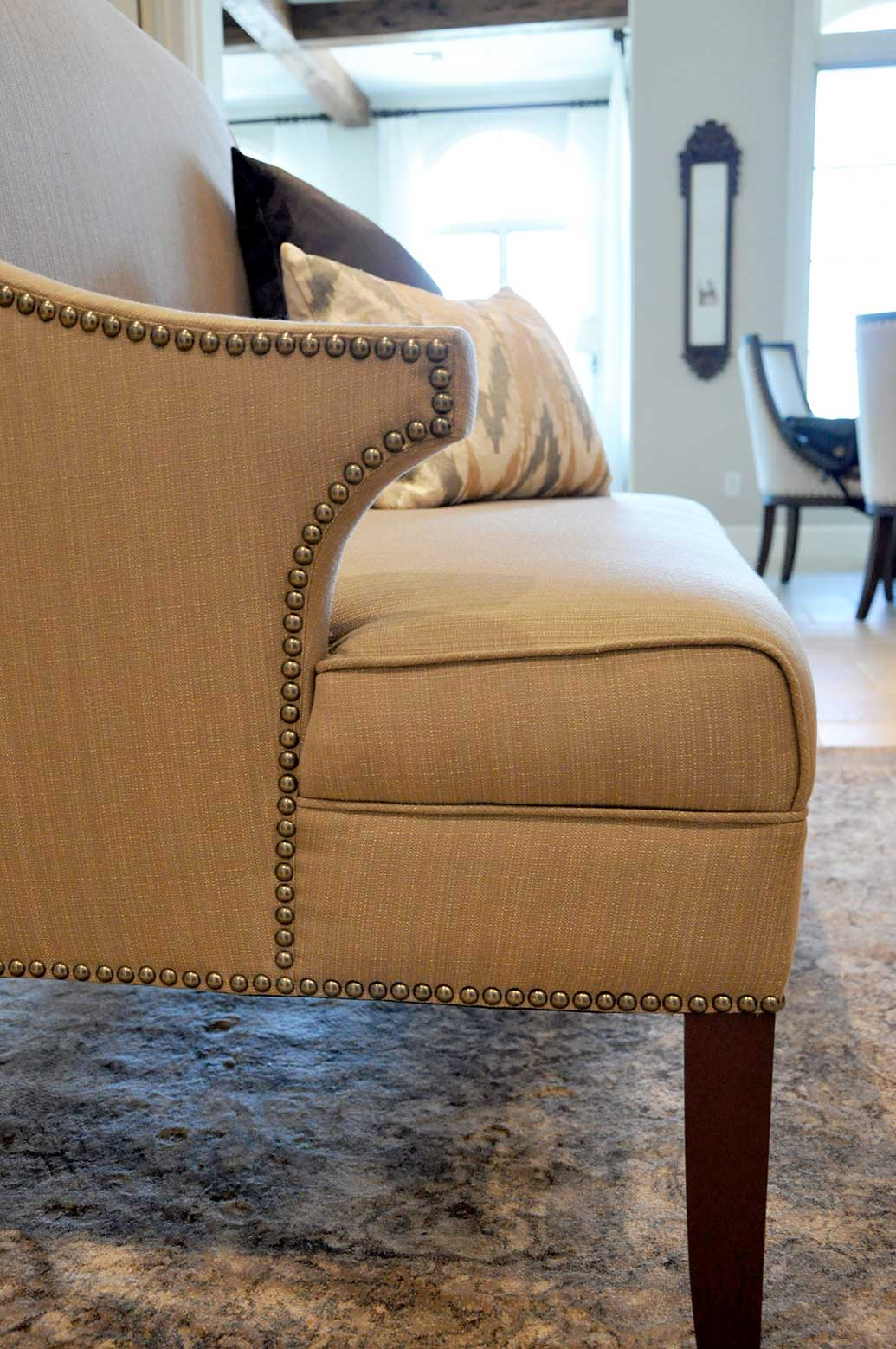 Custom Design Detail and Nailhead