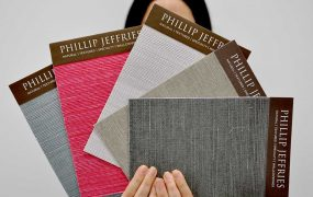 Natural Wallcoverings In Vibrant Colors