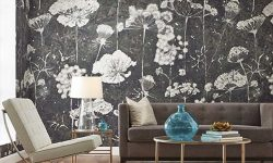 Graphic Dandellion Prints Make For Playful Wallcoverings