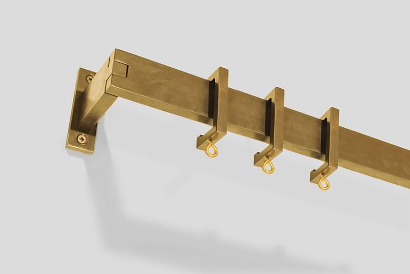 Architect Barre in Brass